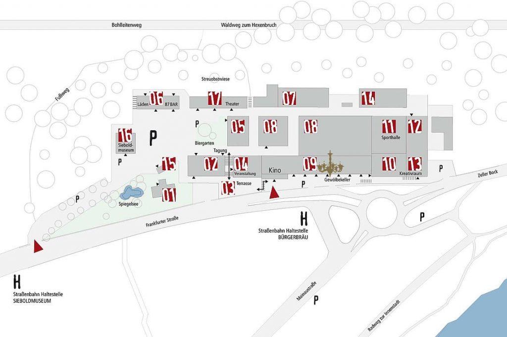 Bürgerbräu_Lageplan